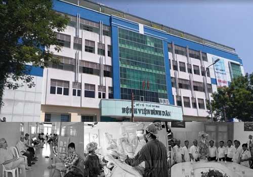 Bệnh viện Bình Dân - chuyên ngoại khoa duy nhất miền Nam