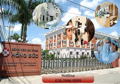 Bệnh viện Đa khoa Hồng Đức phục vụ với 3 cơ sở chính