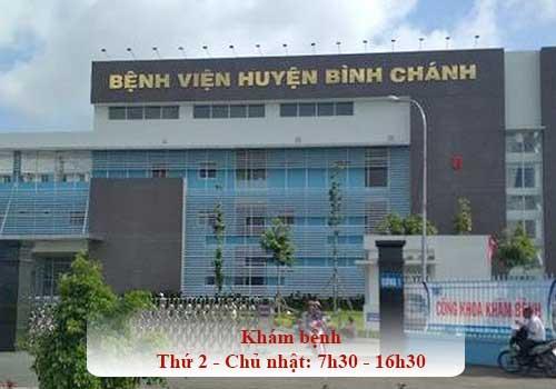 Bệnh viện huyện Bình Chánh hướng tới bệnh viện đa khoa hạng I