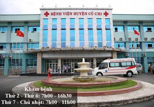 Bệnh viện huyện Củ Chi đang từng bước chuyển mình