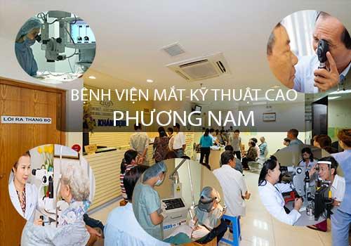 Bệnh viện Mắt Kỹ thuật cao Phương Nam chất lượng và uy tín