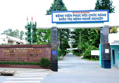 Bệnh viện Phục hồi chức năng - Điều trị bệnh nghề nghiệp TPHCM