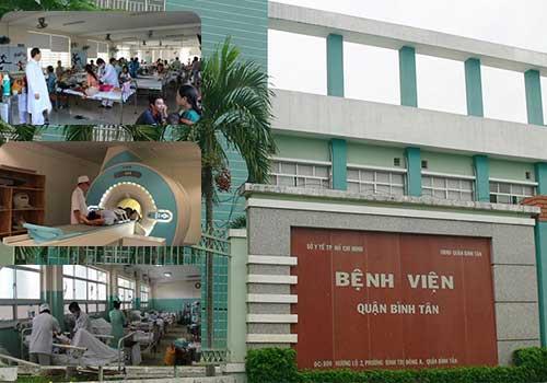 Bệnh viện Quận Bình Tân hướng tới bệnh viện đa khoa hạng I