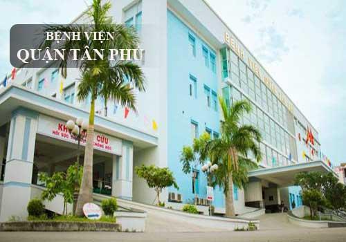 Bệnh viện Quận Tân phú là địa chỉ quen thuộc của người dân trên địa bàn