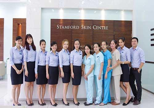Phòng khám chuyên khoa Da với nhiều bác sĩ từng tu nghiệp tại nước ngoài