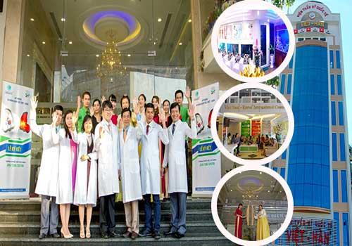Thẩm mỹ Quốc tế Việt Hàn mang đến chất lượng phục vụ 5 sao