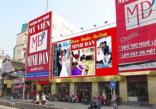 Thẩm mỹ viện Minh Đan hiện có hai chi nhánh tại TPHCM và TPCT