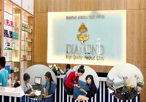 Trung tâm đa khoa Diamond hội tụ nhiều bác sĩ chuyên khoa tại bệnh viện lớn
