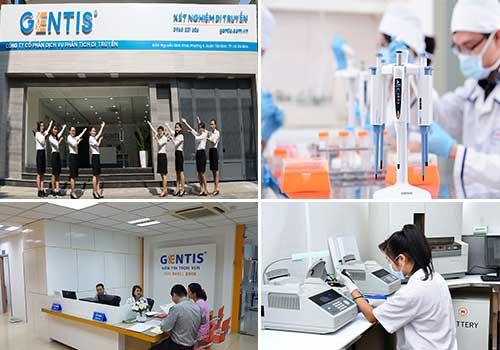 Trung tâm xét nghiệm DNA - Gentis TPHCM
