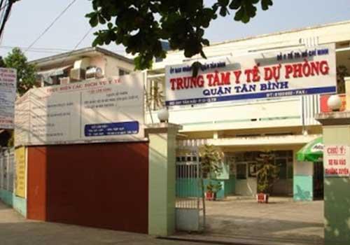 Trung tâm Y tế Quận Tân Bình cơ sở trên đường Tân Hải