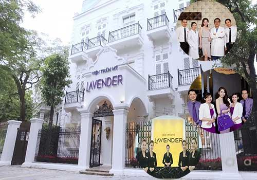 Viện thẩm mỹ Lavender được xếp hạng chất lượng 5 sao